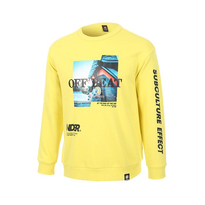 전사나염 포인트 쭈리면 맨투맨 티셔츠