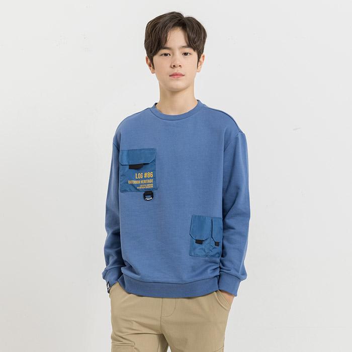 캠핑무드 루즈핏 맨투맨 티셔츠